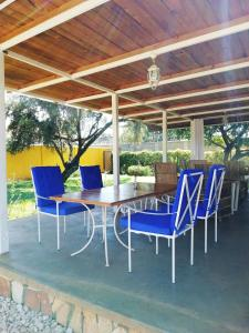 Der Swimmingpool an oder in der Nähe von Casa Mia Baliidha
