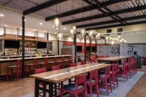 A restaurant or other place to eat at Holiday Inn Denver East