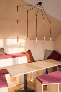A bed or beds in a room at Montagu Hostel