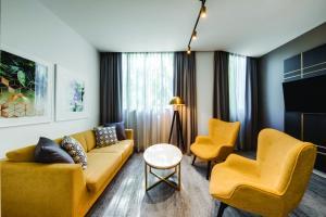 Гостиная зона в Vibe Hotel Sydney
