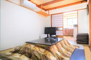 A television and/or entertainment center at Yoshimura