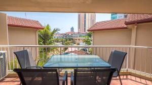 A balcony or terrace at Jubilee Views Holiday Apartments