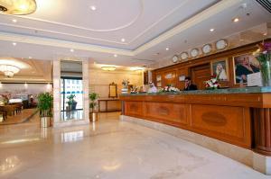 The lobby or reception area at Dar Al Hijra InterContinental