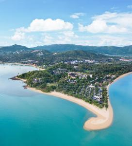 A bird's-eye view of W Koh Samui