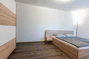 Posteľ alebo postele v izbe v ubytovaní Mami Style Apartments