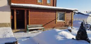 Pavlovskoe Podvorye Guest House with Russian Steam Bath during the winter
