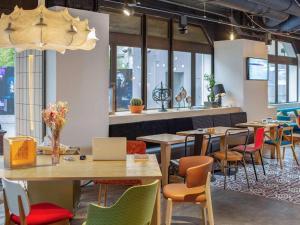 Restaurant ou autre lieu de restauration dans l'établissement Mercure Paris Gare Montparnasse