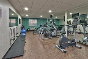 The fitness center and/or fitness facilities at Holiday Inn Express Santa Rosa