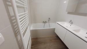A bathroom at Golden Trust Apartments