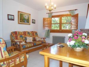 Zona de estar de Apartamentos Rurales Panjuila