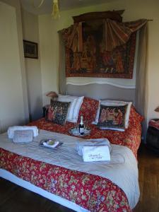 Un ou plusieurs lits dans un hébergement de l'établissement Demeure de l'île rollet