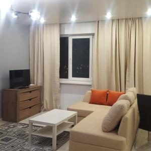 Гостиная зона в 1-komnatnaya, prospekt Okeanskiy 149