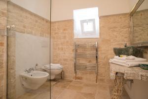 Een badkamer bij Trullidea