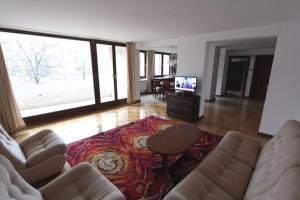 Część wypoczynkowa w obiekcie Apartament Nowiniarska