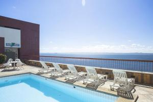 The swimming pool at or close to apart hotel sol victoria marina