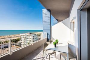 A balcony or terrace at ADRIATICA aparthotel
