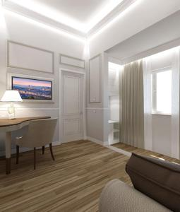 A television and/or entertainment center at Hotel Pierre