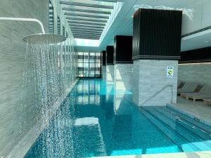 The swimming pool at or near Bright-Victoria One