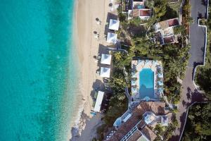A bird's-eye view of La Samanna, A Belmond Hotel, St Martin