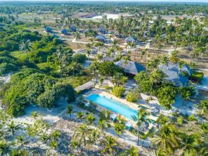Una vista aérea de Rancho Do Peixe
