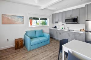 A kitchen or kitchenette at The Villas at St Pete Beach