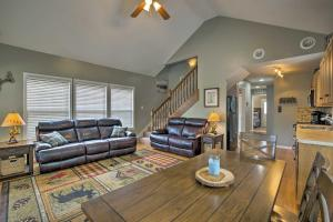 A seating area at NEW! Cozy Meriden Home -2 Minutes to Perry Lake!