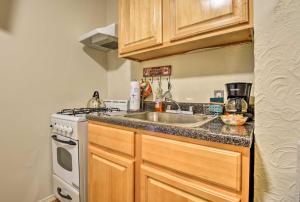 A kitchen or kitchenette at NEW! Bronx Apt - Walk to Nereid Subway Station!
