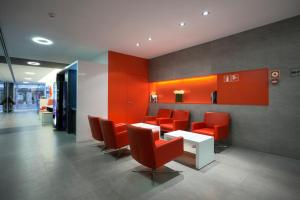 The lobby or reception area at Hotel Turin