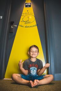 Children staying at IBIS Budget Navegantes Itajai