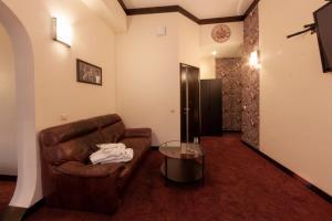 Гостиная зона в Гостиница Четыре Комнаты