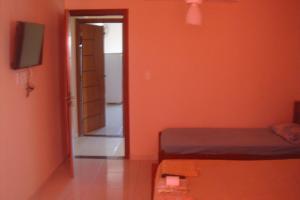 Cama ou camas em um quarto em stellamares apartamentos