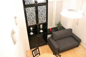 Posezení v ubytování Lupus Apartment No. 2