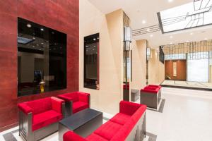 The lobby or reception area at Hotel Dans Le Coeur Osaka Umeda