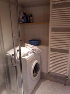 A bathroom at Casa Valentina