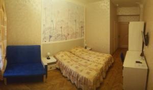 Кровать или кровати в номере Guest rooms Idillia