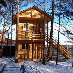 Baza Lesnaya during the winter