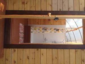 A kitchen or kitchenette at Baza Lesnaya
