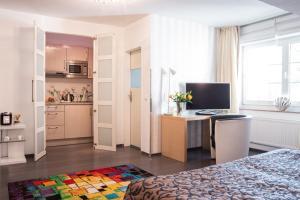 TV/Unterhaltungsangebot in der Unterkunft Apartments am Prinzenplatz - Superior