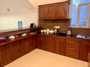 Cucina o angolo cottura di Helianto Social Villa
