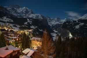 Hotel Alpenruhe - Vintage Design Hotel during the winter