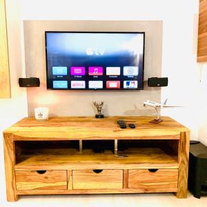 TV/Unterhaltungsangebot in der Unterkunft Apartment Panamericana