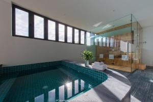 The swimming pool at or close to The Trang Villa