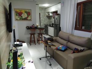 A seating area at Solar Recanto da Águia