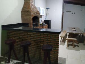 A kitchen or kitchenette at Solar Recanto da Águia