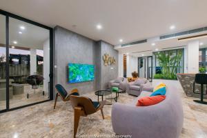 A seating area at The Trang Villa
