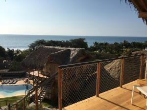 A view of the pool at Amai Luna or nearby
