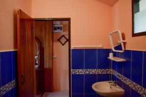 A bathroom at The Nest House