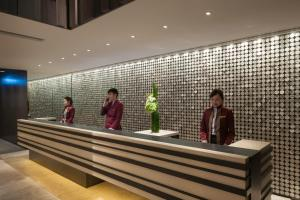 The lobby or reception area at Gateway Hotel, Marco Polo