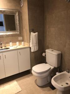 A bathroom at Departamento a estrenar en Palermo con pileta.