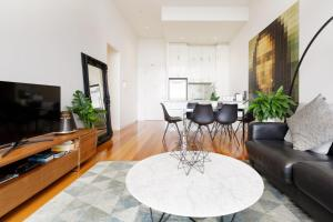 A seating area at Milano CBD Penthouse